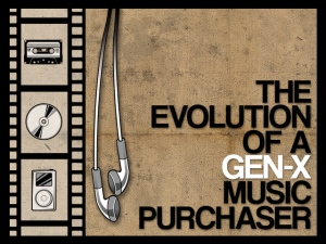 The Evolution of a Gen-X Music Purchaser